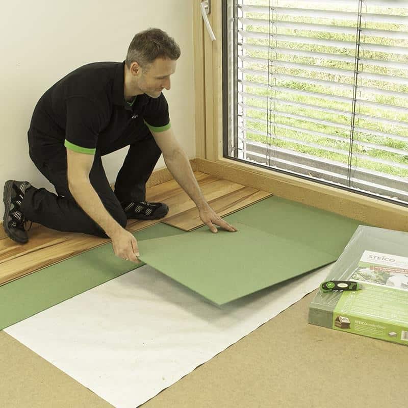 steico underflor fibre de bois isolation acoustique. Black Bedroom Furniture Sets. Home Design Ideas